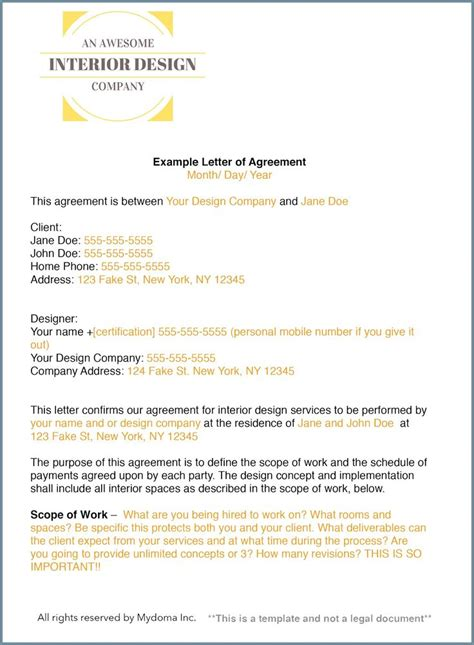 Agreement Letter For Design Best 25 Interior Design Presentation Ideas On Interior Presentation Presentation