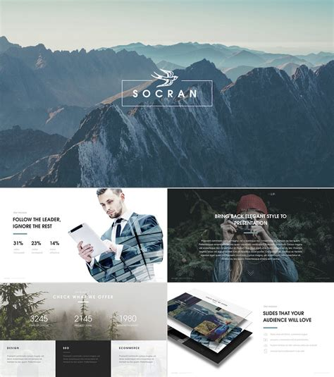 25 Awesome Powerpoint Templates With Cool Ppt Designs Sophisticated Powerpoint Templates