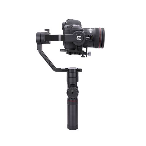 Zhiyun Crane 2 3 Axis With Follow Focus For Dslr New Version free dhl zhiyun crane 2 3 axis handheld gimbal dslr stabilizer 3 2kg real follow focus for dslr