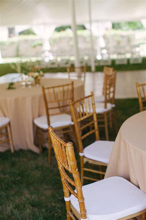 wooden garden chairs wedding wooden chiavari chairs at outdoor reception elizabeth