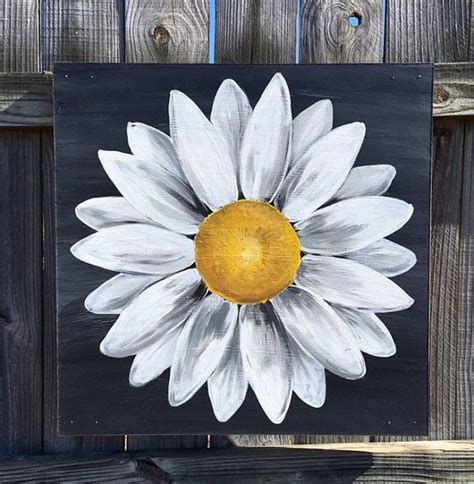 simple acrylic canvas painting ideas of flowers best 20 flower painting canvas ideas on