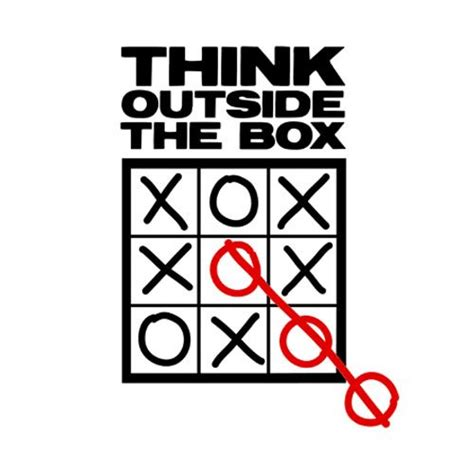 Always Think Outside The Box 2 think outside the box stupid or just plain