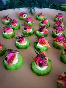 1000 images about smoked trout salmon canape recipes on