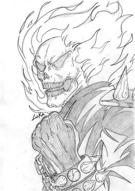 ghost rider coloring pages 171 free coloring pages