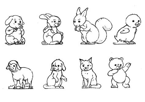 Coloriage B 233 B 233 Animaux Img 10923 Small Animal Pictures To Print