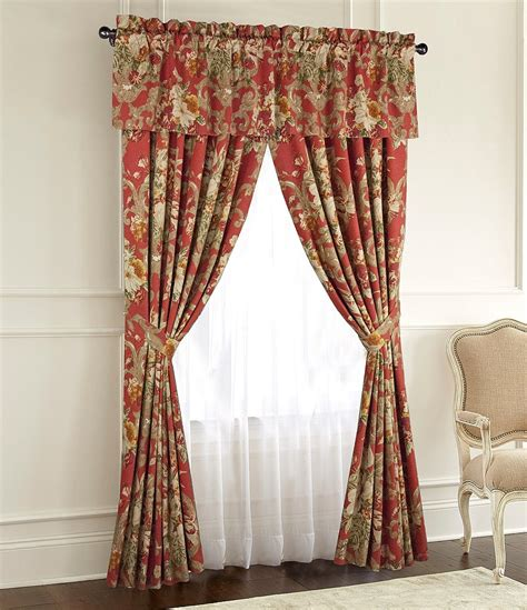 dillards drapes rose tree durham floral window treatments dillards