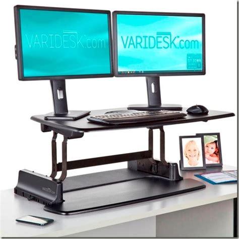 Standing Desk Productivity by Varidesk Pro Review Standing Desks Improve Productivity