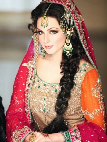 bridal hairstyles video in urdu bridal hairstyles tafreeh mela pakistani urdu forum