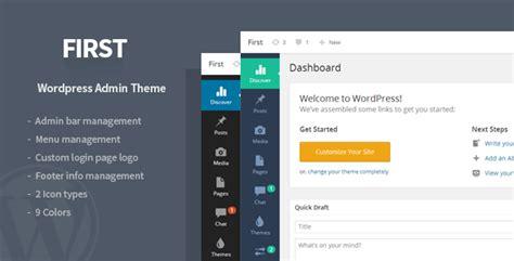 wordpress top bar plugin first wordpress admin theme wordpress codecanyon