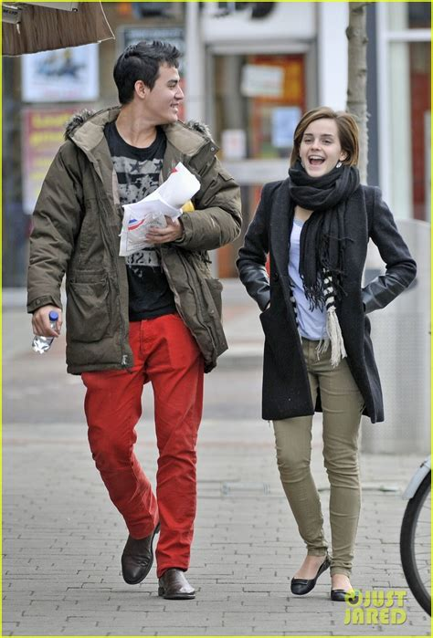 emma watson engaged a happy couple page 2 emma images and media the