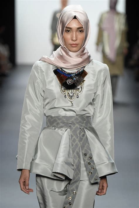 model hujab how this muslim designer made history at new york fashion week