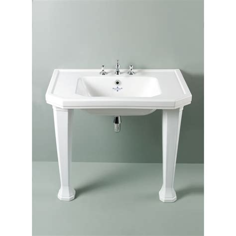 traditional bathroom basin silverdale empire traditional 920mm winged basin uk