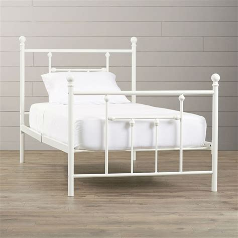 white metal headboard twin 1000 ideas about white metal headboard on pinterest