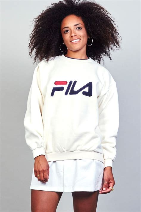 Fila Sweater Gloria White 17 best images about fila on outfitters fashion lookbook and s footwear