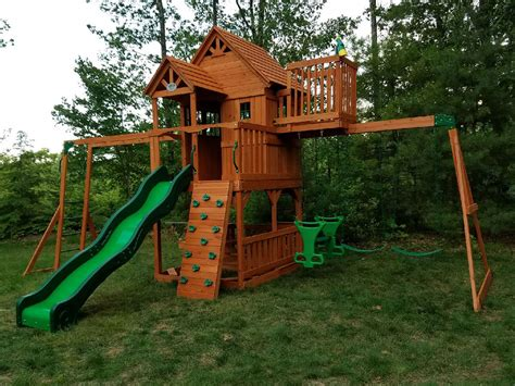 Backyard Discovery Sky Fort 2 Playset Assembler Swing Set Installer In Me