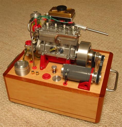 working mini v8 engine kit miniature engine exhibit returns at goodguys west coast