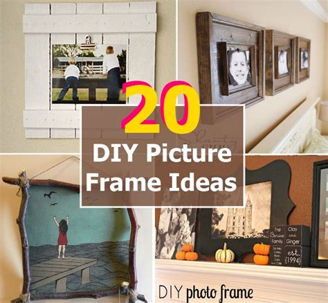 photo framing ideas 20 inexpensive diy picture frame ideas diy home things