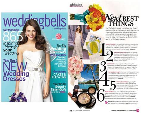 Wedding Bell Magazine Canada by Stems Weddingbells Magazine 2010 2011