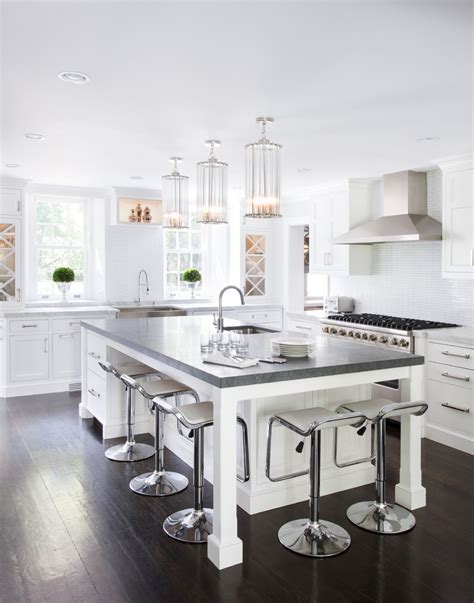 white kitchen island with seating fabulously cool large kitchen islands with seating and