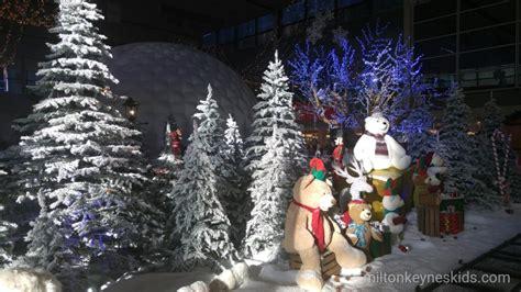 centre mk christmas display milton keynes kids