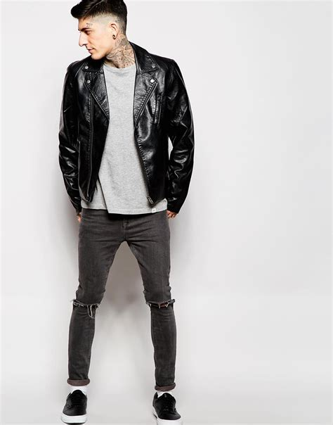 cheap biker jackets biker jacket cheap fit jacket