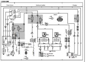 1995 lexus ls400 ucf20 series electrical wiring diagram