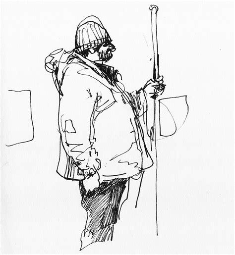 sketching people an urban urban sketchers switzerland february 2014