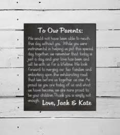Thank You Letter Parents The Groom thank you sign diy chalkboard wedding decor marriage bride groom