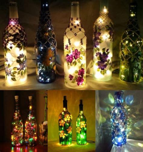 foto  ide ide kreatif  botol  dekorasi rumah