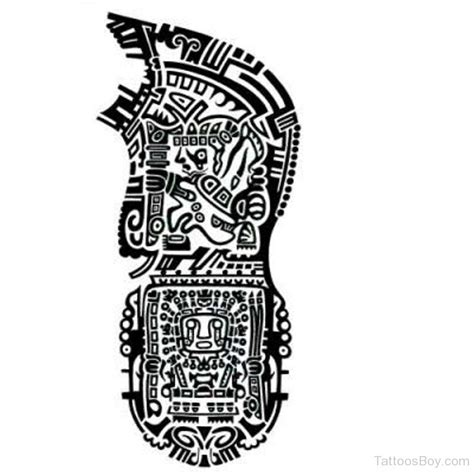 aztec sleeve tattoos designs aztec tattoos designs pictures