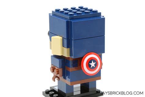 Termurah Lego Brickheadz 41589 Captain America review lego marvel brickheadz series 1 41589 41590
