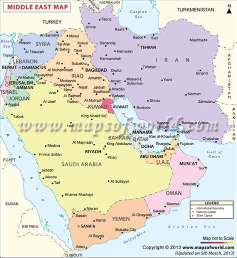 middle east map showing kuwait best 25 bahrain map ideas on