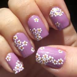 nail polish trends spring 2012 floral and flowery nail