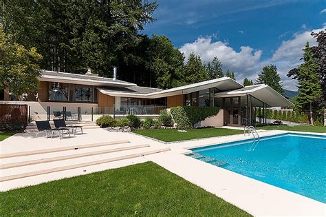 midcentury modern home mid century modern home by ron thom architecture