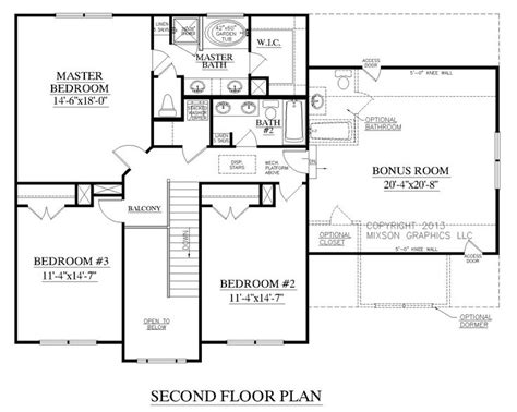 master bedroom upstairs floor plans best 164 two story house plans images on pinterest