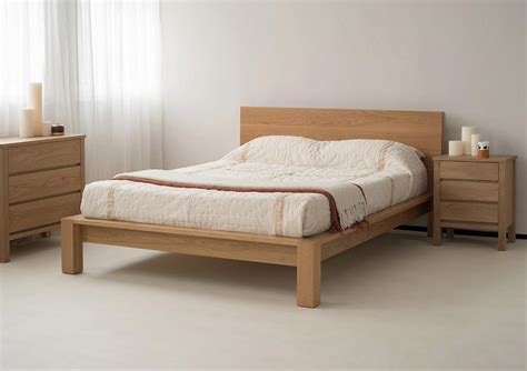 natural bed ex display ocean sale oak bed natural bed company