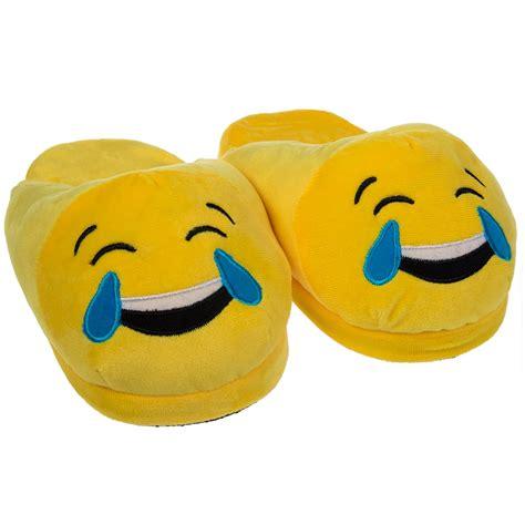emoji slippers emoji house slippers soft plush for adults