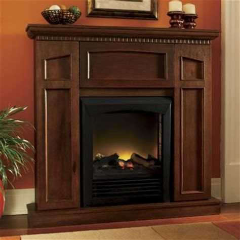 convertible electric fireplace with storage from