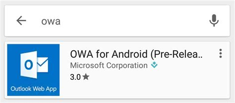 owa for android office365 on android using owa con ed ltd