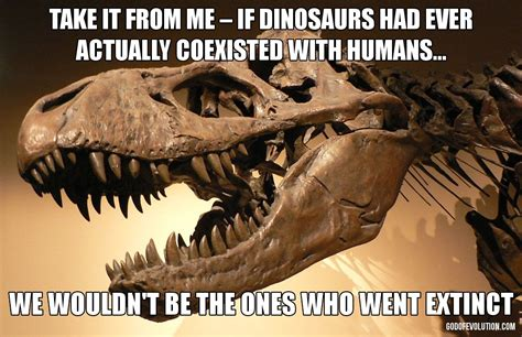 dinosaur memes a meme about dinosaurs god of evolution