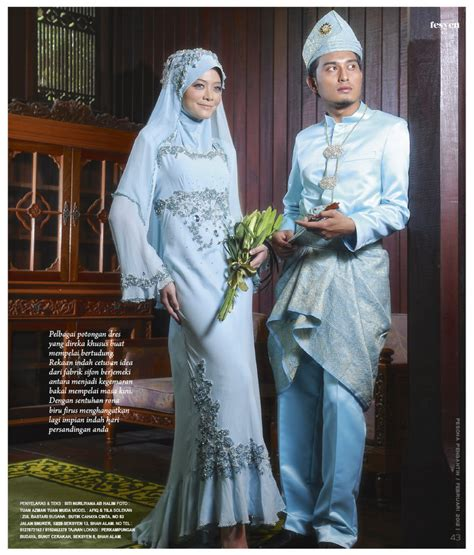 baju pengantin muslimah bukit beruntung butik chahaya chinta butik pengantin di shah alam selangor