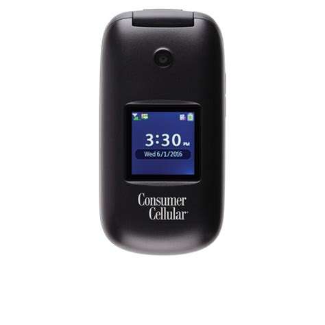 consumer cellular envoy stylish flip phone consumer
