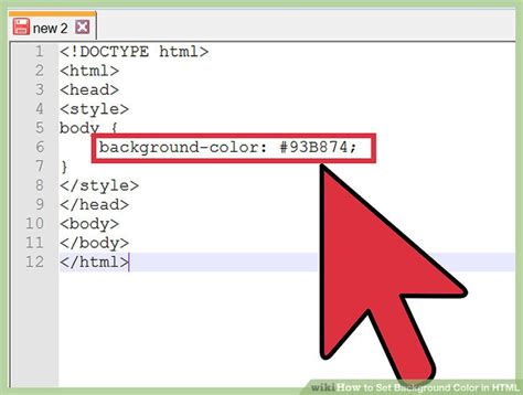 change background color css 4 ways to change background color in html wikihow