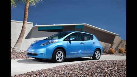 2012 Nissan Leaf Review by 2012 Nissan Leaf Drive Time Review With Steve Hammes