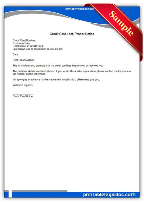 unauthorized amount charged on credit card template free printable credit card lost form generic