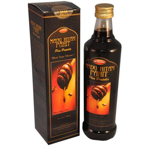 Obat Diabetes Kolestrol Madu Hitam Pahit Ar Rohmah Murah madu hitam pahit ar rohmah plus propolis 460gr grosir obat herbal