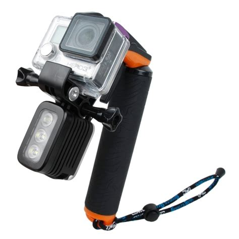 Dive Buoy Floating Monopod For Gopro Xiaomi Yi Blue tmc shutter controller with buoyancy monopod for gopro