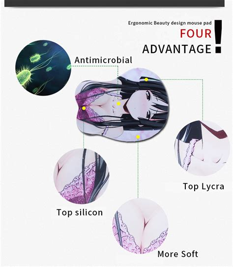 Breast Pads Pad 50pc 6pc exco high end shape design picture custom anime 3d