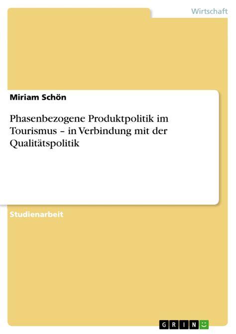 syst鑪e u si鑒e social phasenbezogene produktpolitik im tourismus in verbindung