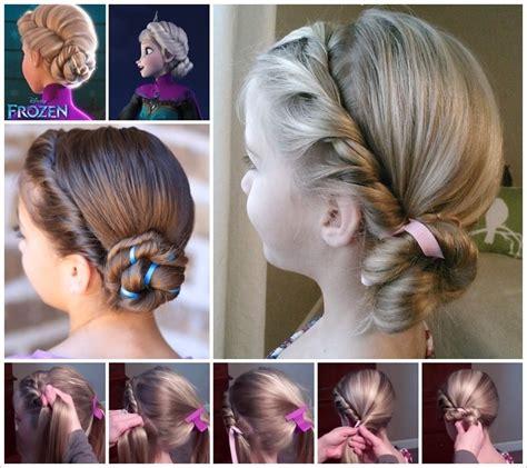 cute hairstyles elsa ideen on pinterest basteln elsa and frozen
